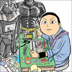(有)シブすぎ技術製作所 映画メカ勝手に開発部